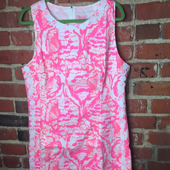 Lilly Pulitzer NWT Mini Mila Shift in Coral Reef Beside The Point
